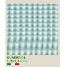Мрежа QUADRA 01 Растер 1.2 x1.2mm H=1.0m L=5 m