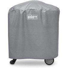 Луксозен калъф за електрическо барбекю със стойка Q1000/2000 цвят сив