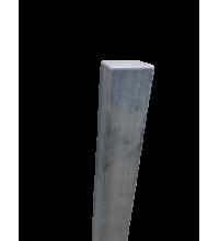 Ограден стълб DIY 60 х 40 mm H=2.4 m Цвят поцинкован
