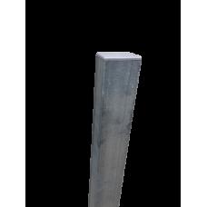 Ограден стълб DIY 60 х 40 mm H=2.0 m Цвят поцинкован