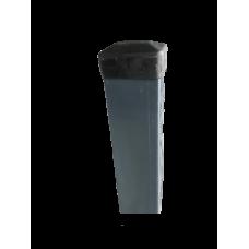 Ограден стълб DIY 60 х 40 mm H=2.0 m Цвят сив