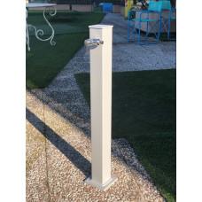 Градинска чешма алуминий, модел VAN GOGH - сив