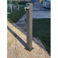 Градинска чешма алуминий, модел VAN GOGH - антрацит