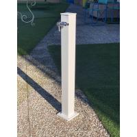 Градинска чешма алуминий, модел VAN GOGH - бял