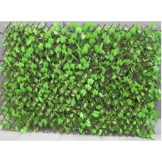Декоративна ограда Хармоника H=1.0 x L=2.0m Цвят: Светло зелен