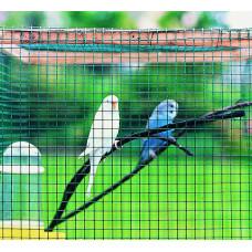 Електрозаварена мрежа Hobby fence H=0.5m L=5m Цвят зелен