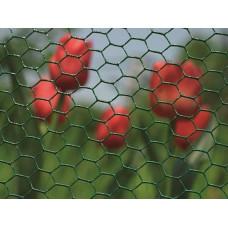 Хексагонална мрежа Hobby fence H=0.5m L=10m Цвят зелен