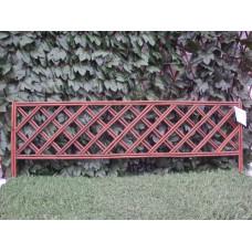 Декоративна плетена ограда H=35 cm x L=100 cm