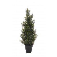 Изкуствено дърво в саксия - Кедър 61 см