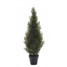 Изкуствено дърво в саксия - Кедър 91 см