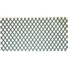 Декоративна PVC ограда Хармоника - двулицев плет H=1.0 x L=2.0