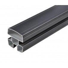 Алуминиев стълб с капачка 90х90mm H= 1.30m