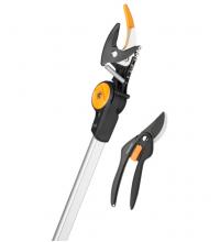 Промо сет: Телескопична резачка за високи клони UPX86 + Лозарска ножица SingleStep P26