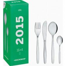 Комплект прибори за хранене 16+4