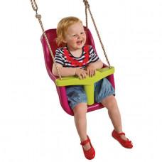 Бебешко столче ЛУКС + въжета от полипропилен (PP)