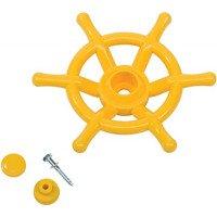 Детско кормило за игра цвят жълт