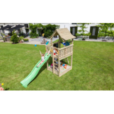 Детско дървено съоръжение за игра модел PAGODA, Blue Rabbit 2.0 KBT