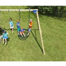 Детски дървен модул за игра модел SWING, Blue Rabbit 2.0 KBT