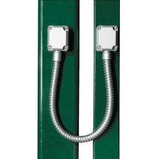 Направляващ метален гофриран канал за кабели с дължина 450 mm