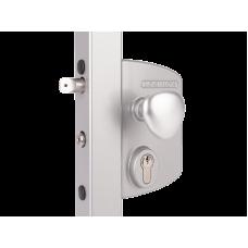 Електрическа брава за радиално отваряеми врати Цвят черен