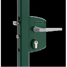 Брава за индустриална врата Цвят зелен