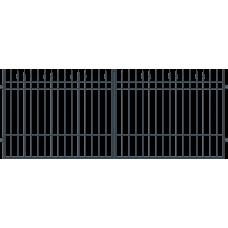 Двукрила оградна врата + панти Portland