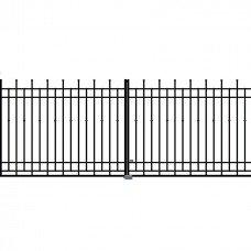 Двукрила оградна врата + панти Brema