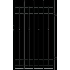Дясна еднокрила оградна врата + панти Brema