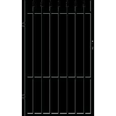 Лява еднокрила оградна врата + панти Malta