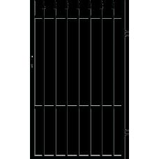 Дясна еднокрила оградна врата + панти Malta