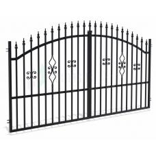 Двукрила оградна врата + панти Tola