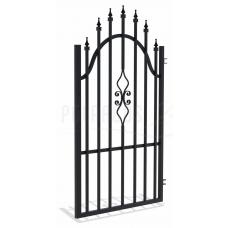 Дясна еднокрила оградна врата + панти Tola