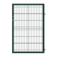 Еднокрила оградна врата модел + панти Sparta