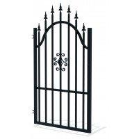 Лява еднокрила оградна врата + панти Rodos