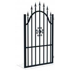 Дясна еднокрила оградна врата + панти Rodos