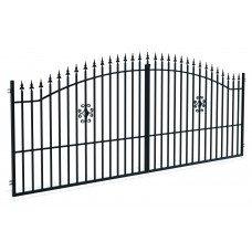 Двукрила оградна врата + панти Rodos