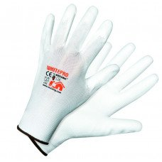 Ръкавици строителни модел WHITEPRO Размер: 10