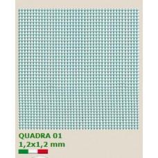PVC мрежа Quadra 01 H=1.0 x L=50 m