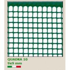 PVC мрежа Quadra 10 H=1.0m x L=30m