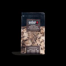 Чипс за опушване WEBER®, дърво с твърда дървесина - 0,7 kg