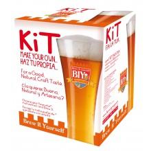 Мини сет за производство на домашна бира, без включен малц